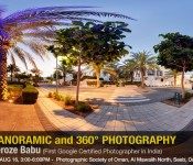 Panorama and 360 Degrees Photography